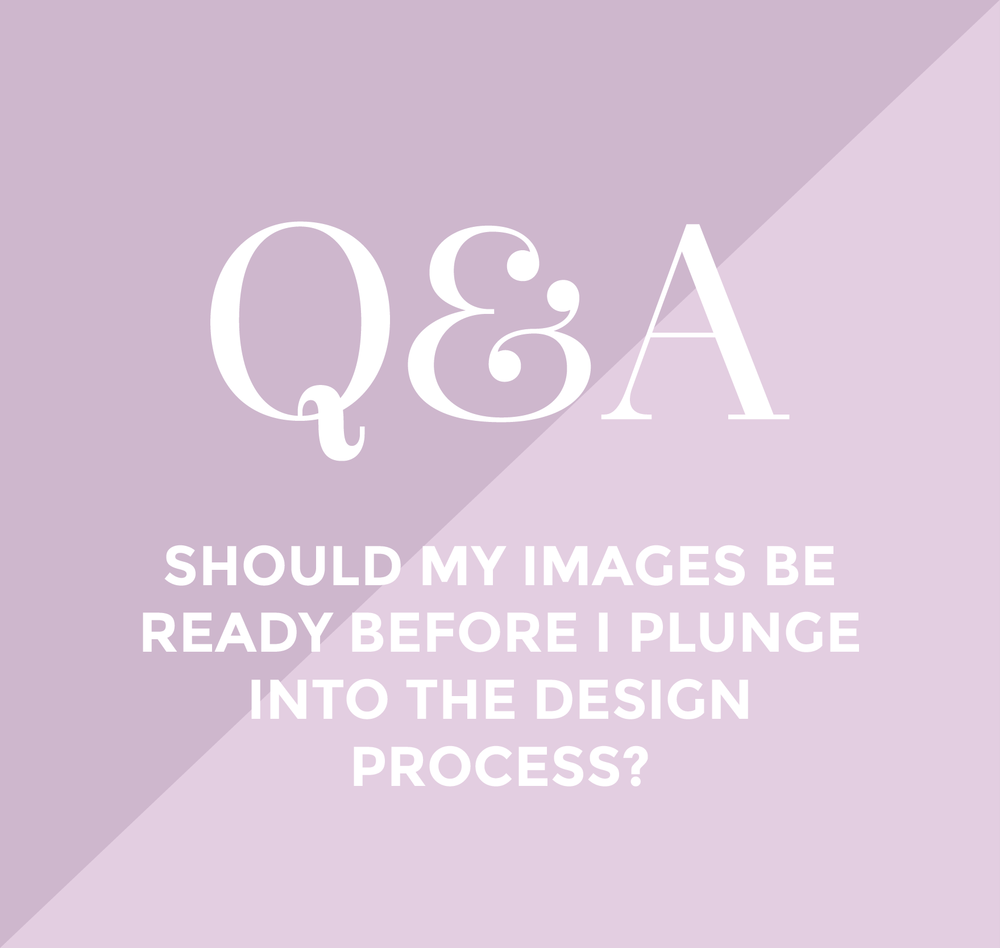 Ash here!! I'm back with another Q&A session and today we're talking about  something I love...Photos!!! We get asked this one simple questionALL the  time from all different types of businesses when they're planning for their  rebrand. And today, we're answering it.  Should my images