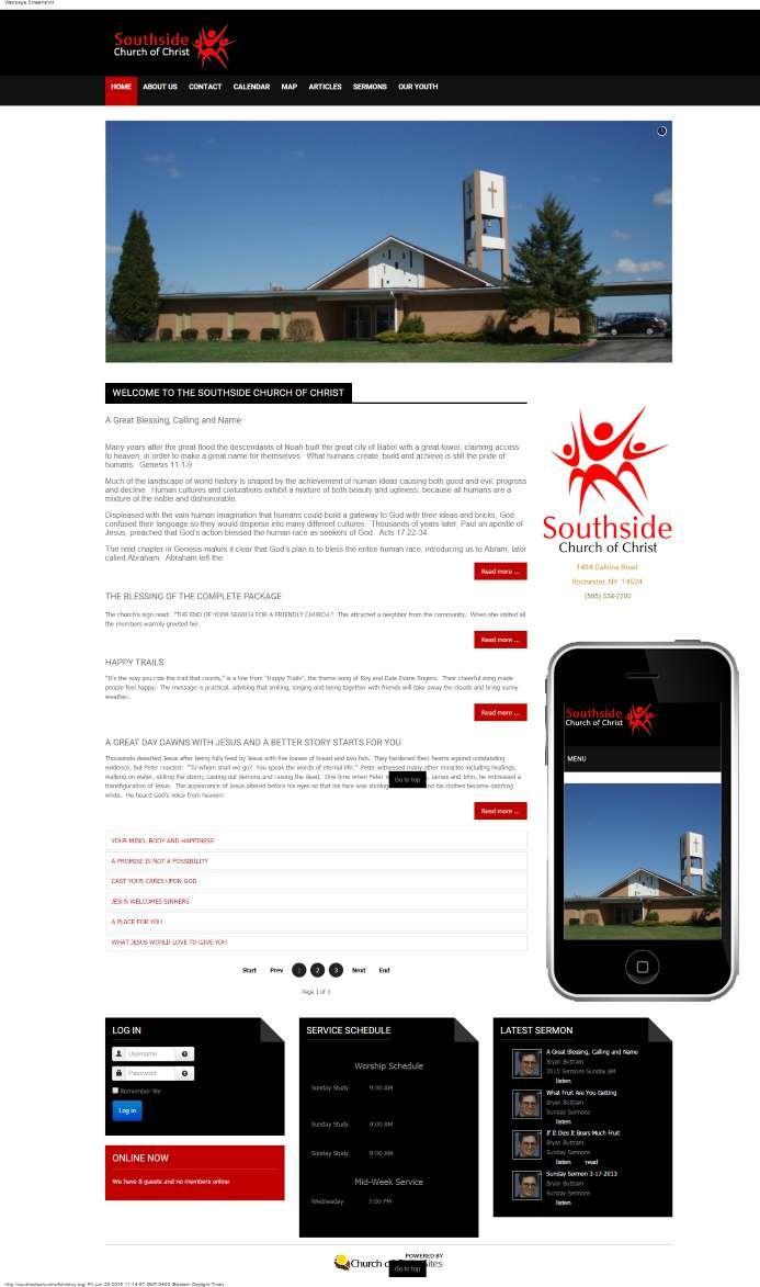 Southside church of christ fairport ny our responsive websites southside church of christ fairport ny reheart Choice Image