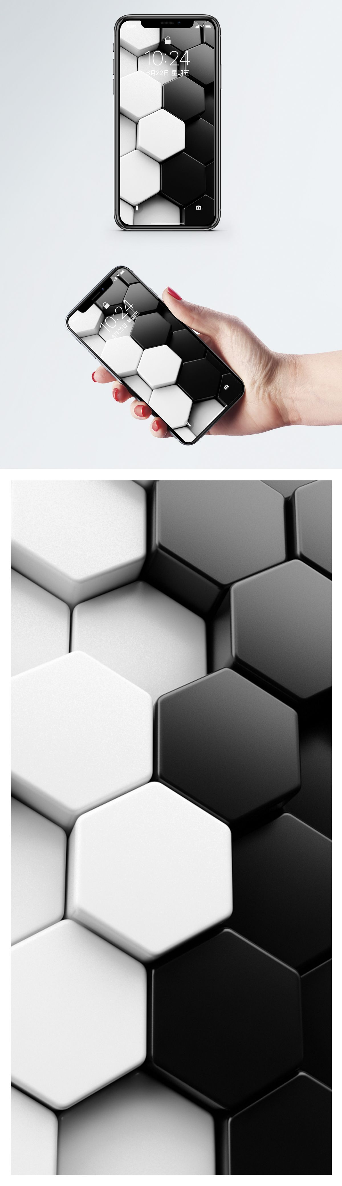 3d Abstract Background Mobile Wallpaper 3d Abstract Background Abstract Geometric Abstract Geometric Background Three Dimensional Black And White Creati