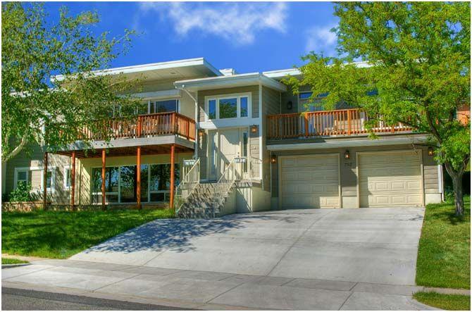 split level front decks | Mansion | Pinterest | Decking, Split ...