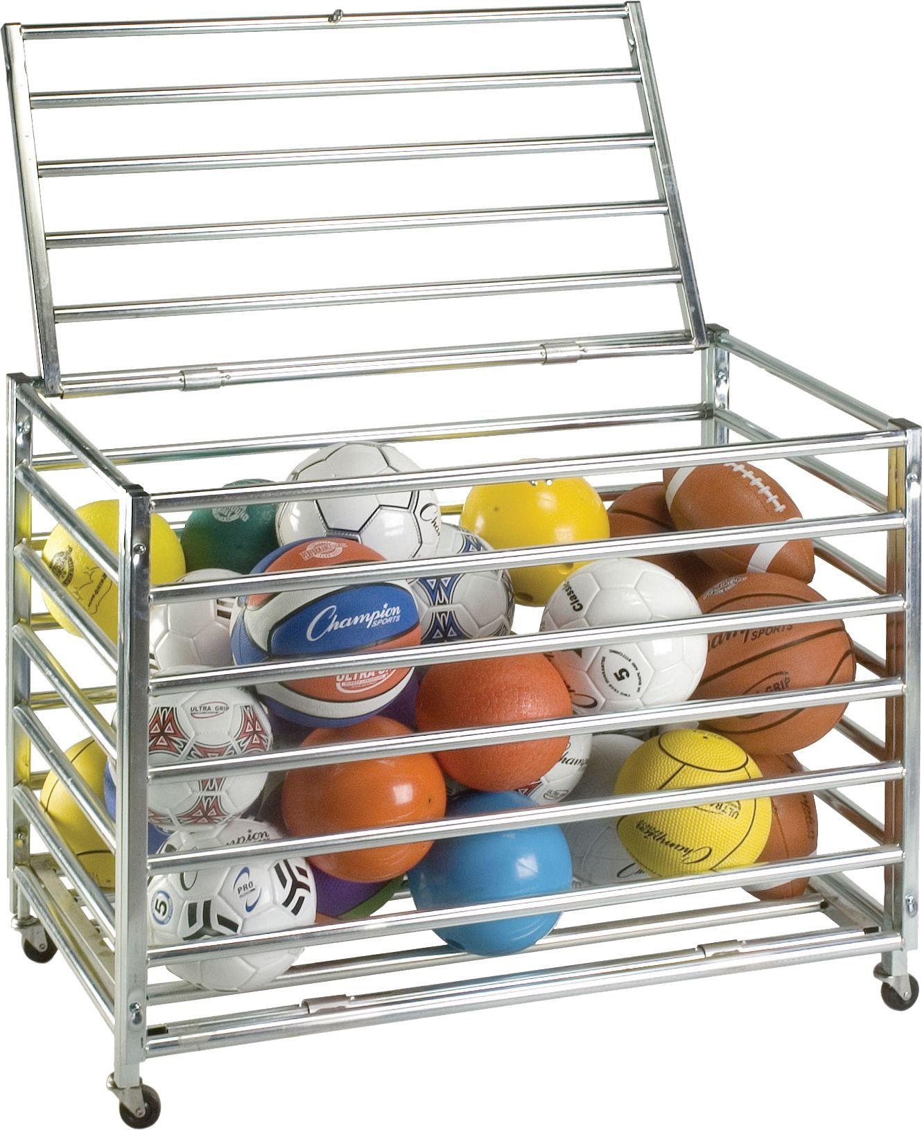 Ball Organizer Garage: Champion Lockable Ball Storage Locker