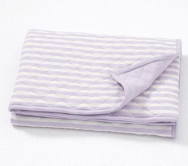 Striped Baby Blanket Stroller Blanket Blanket Pottery