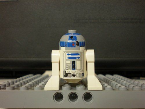 R2D2 Astromech Droid Lego Star Wars Minifigure -- Want additional ...