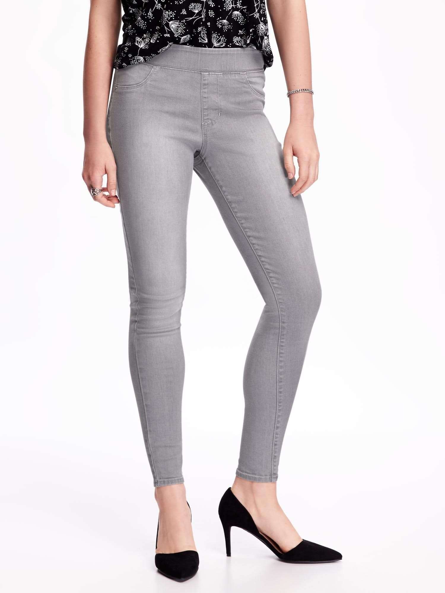 7f50ca494cfad Pull-On Rockstar Jeggings for Women - Old navy in Granite | Things I ...