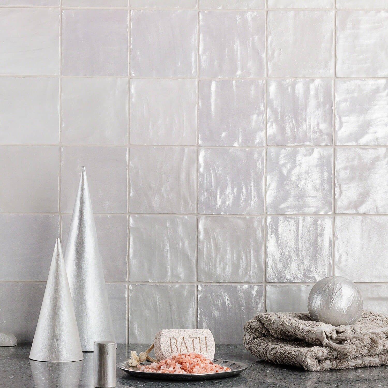 - Montauk Fog 4x4 Ceramic Wall Tile Wall Tiles, Ceramic Wall Tiles