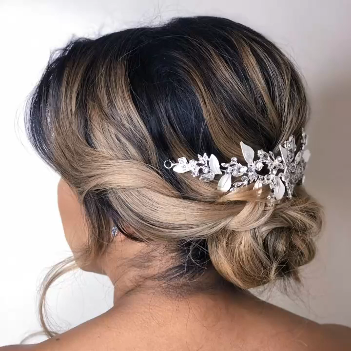 Beautiful Bridal Hairstyle Updo Video for You