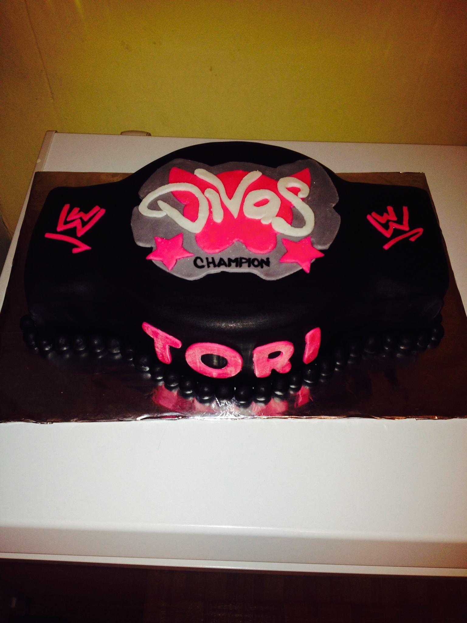 Wwe Divas Cake Ideas
