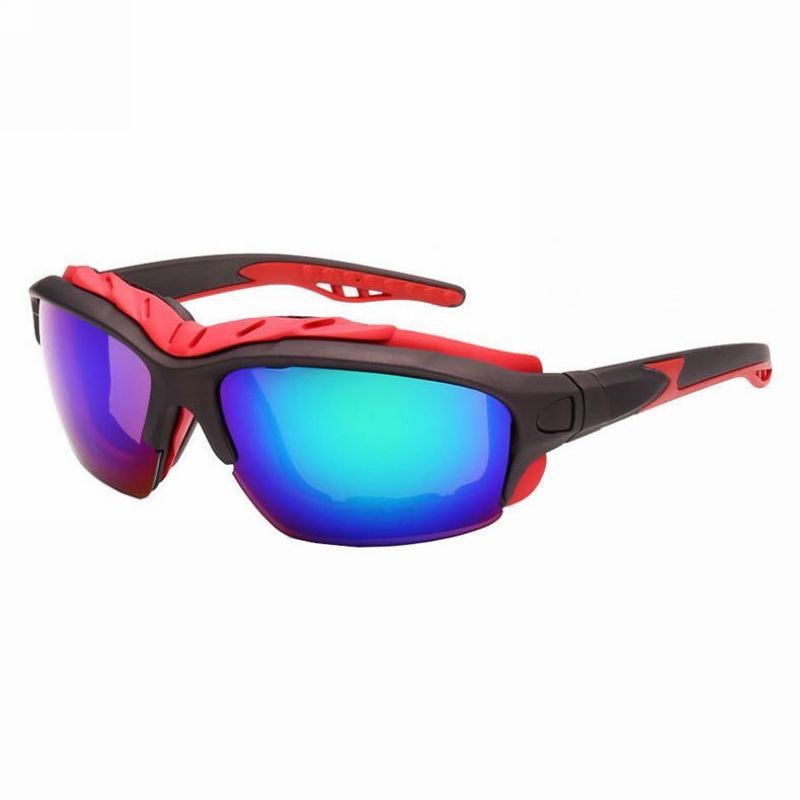 80a4833b81 Specialized Cycling Sunglasses Wrap Padded Frame Mirror Blue ...