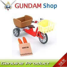 New Sylvanian Families furniture three people riding bicycle