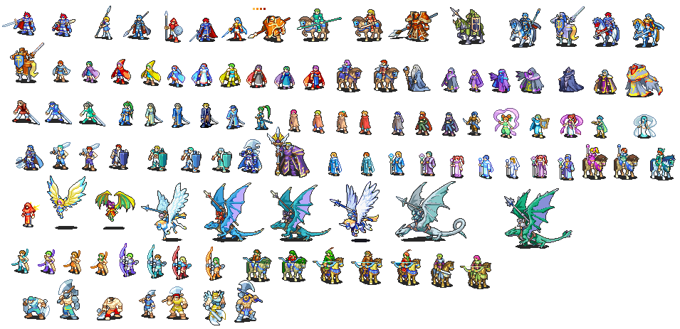 Fire Emblem Battle Sprites Projects To Try Pinterest