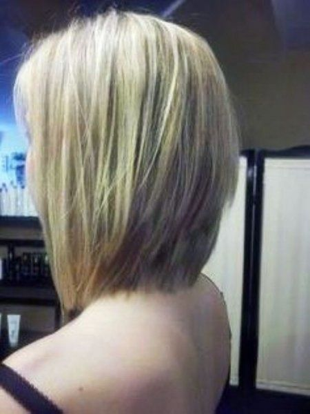 Hair Cuts On Pinterest Stacked Bobs Stacked Bob Haircuts And Long ...