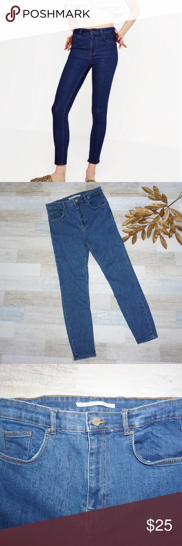 300e41be Zara Trafaluc High Rise Skinny Jeans - Size 10 Zara Trafaluc High Rise Skinny  Jeans -
