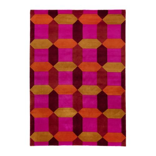 IKEA STOCKHOLM FIGUR Rug, low pile IKEA The rug is hand-knotted by skilled