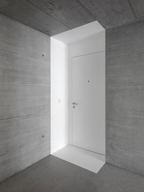 ARCHITECTURE   DECOUPE   PEINTURE   BRUT INTERIOR DESIGN - peinture sur beton brut