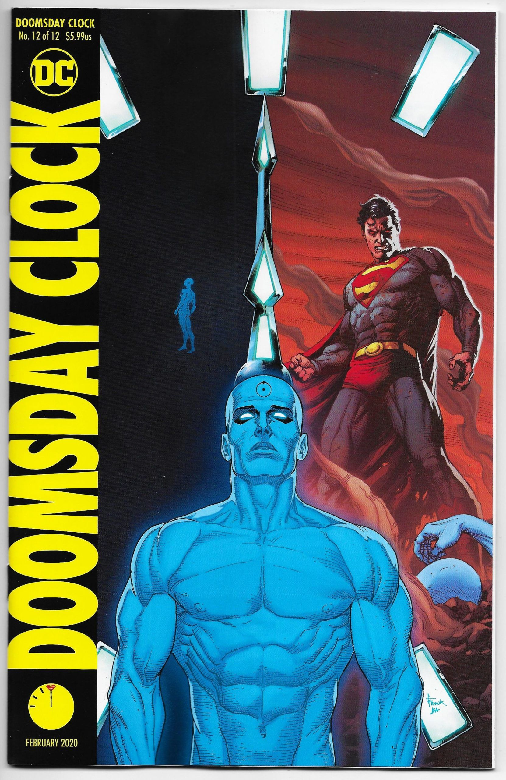 Doomsday Clock 12 Gary Frank Variant Dc 2020 Nm Doomsday