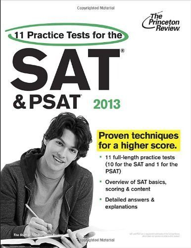 cracking the psat nmsqt 2013 edition college test preparation