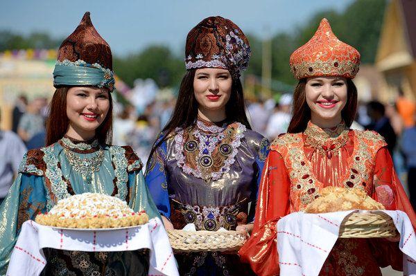 Праздник Сабантуй в Казани