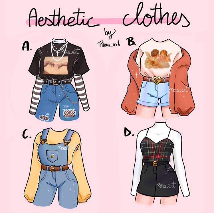 """Photo of •𝑹𝒆𝒂𝒂 𝒂𝒓𝒕•🌙 on Instagram: """"Which one is your favorite??🌸 . You guys can use this outfits for your drawings!💕 please mention me if you do it🥺 . . . . . . . . . . . . .…"""""""