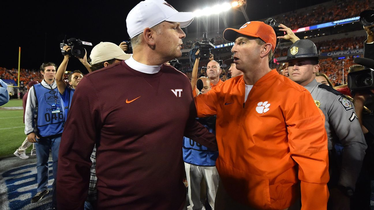 The ACC can't lose with Clemson vs. Virginia Tech