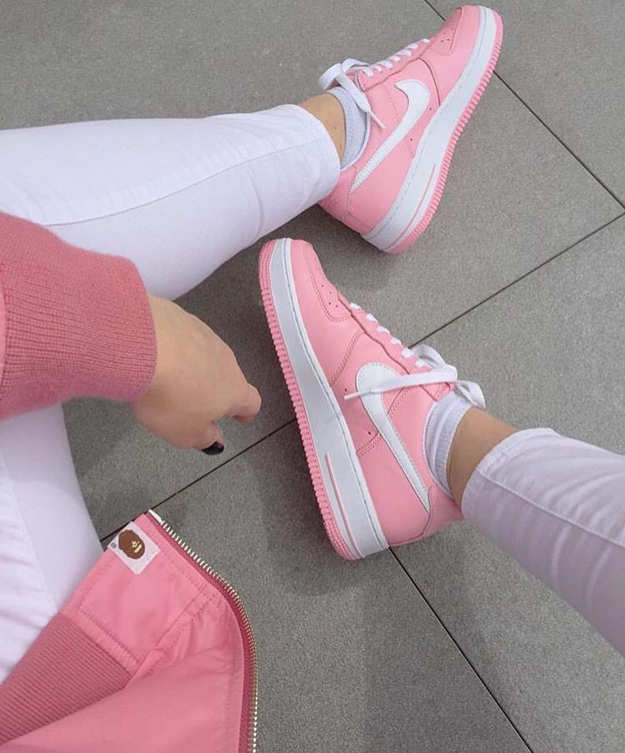 Pink AF1 FREofficial FREchickz (via viewmore) by