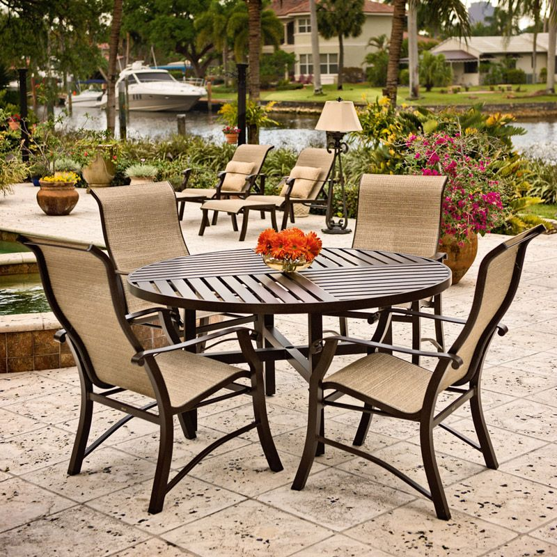 How To Paint Outdoor Sling Chairs I Patio Productions