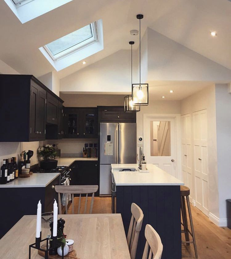 Galley Kitchen Extension: Pin By Carley On Home In 2019