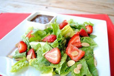 Strawberry Balsamic Vinaigrette Salad
