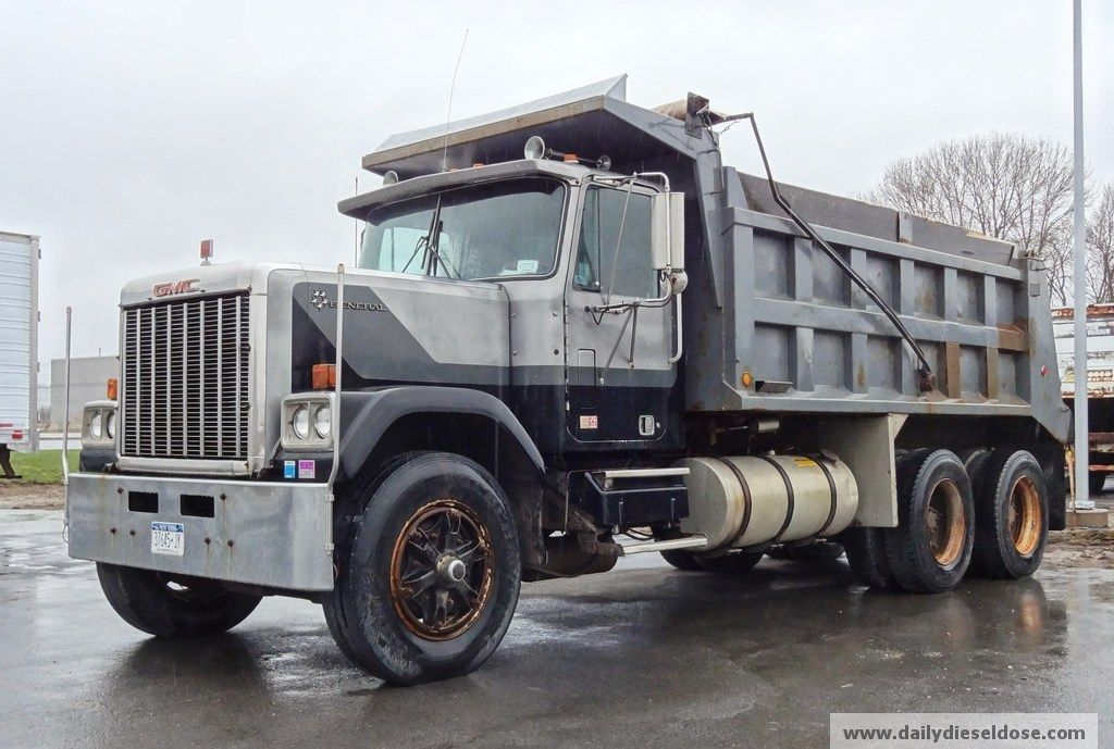 Gmc General Dump Truck Dump Trucks Trucks Big Rig Trucks