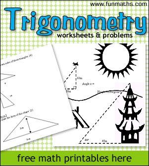 free trigonometry worksheets and printables for highschool precalculus trigonometry. Black Bedroom Furniture Sets. Home Design Ideas