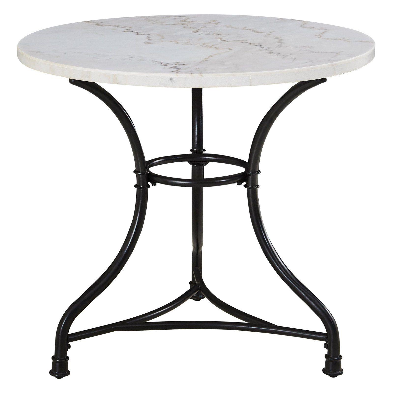 Park Art|My WordPress Blog_Round Stone Coffee Table White