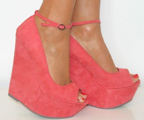 00 Coral 630 En De 01 Hebilla Zapatos Con Plataforma 1UtBCqw