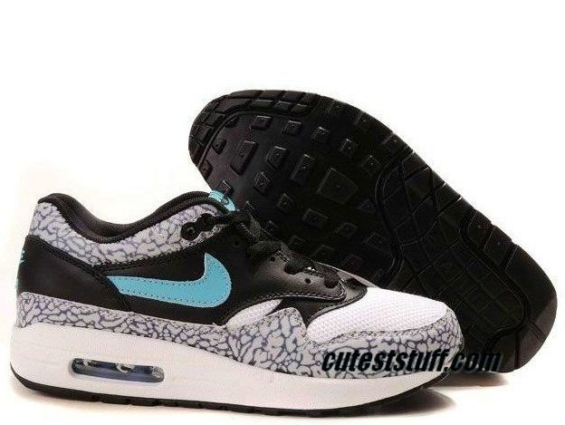 Mens Nike Air Max 1 Premium Atmos Elephant Safari Shoes