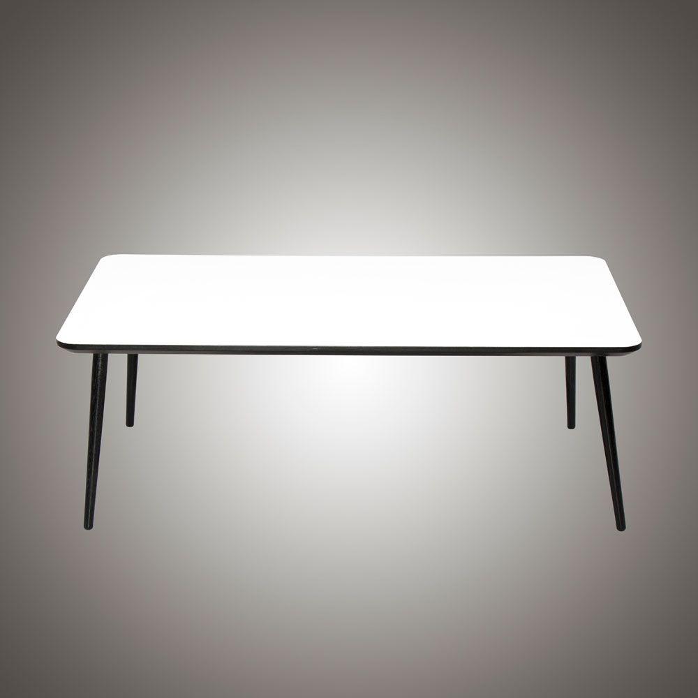 Firkantet sofabord, som altid er fremstillet i eget værksted af ...