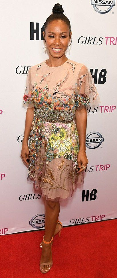 Jada Pinkett Smith in Valentino attends the Essence Festival in New Orleans. #bestdressed