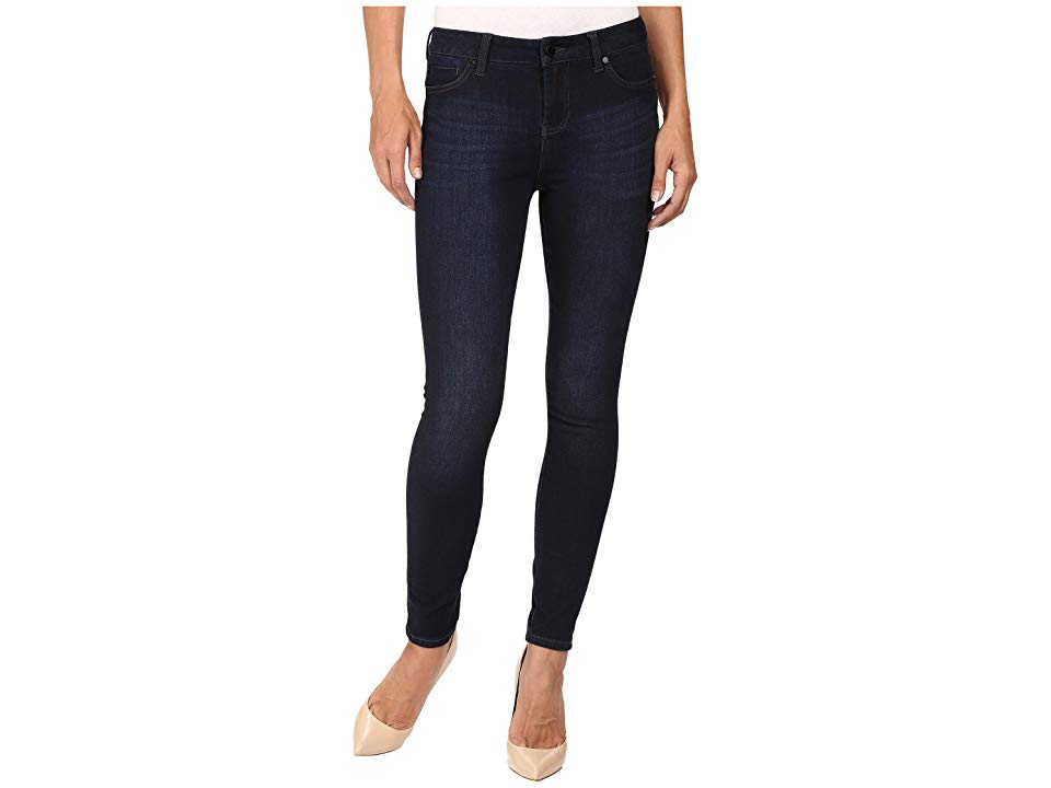 Liverpool Piper Hugger Ankle in Blackout Blue Blackout Blue Womens Jeans The coolest look around The Piper is a midrise skinny jean that is slim from the hip through the...