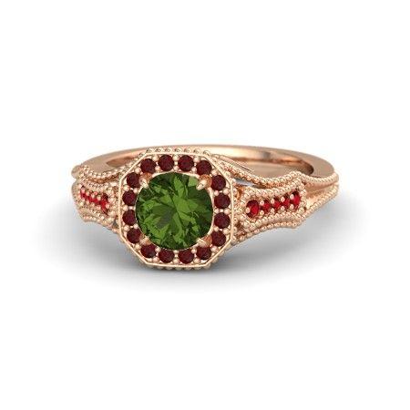 tourmaline jewelry rose gold - Google Search