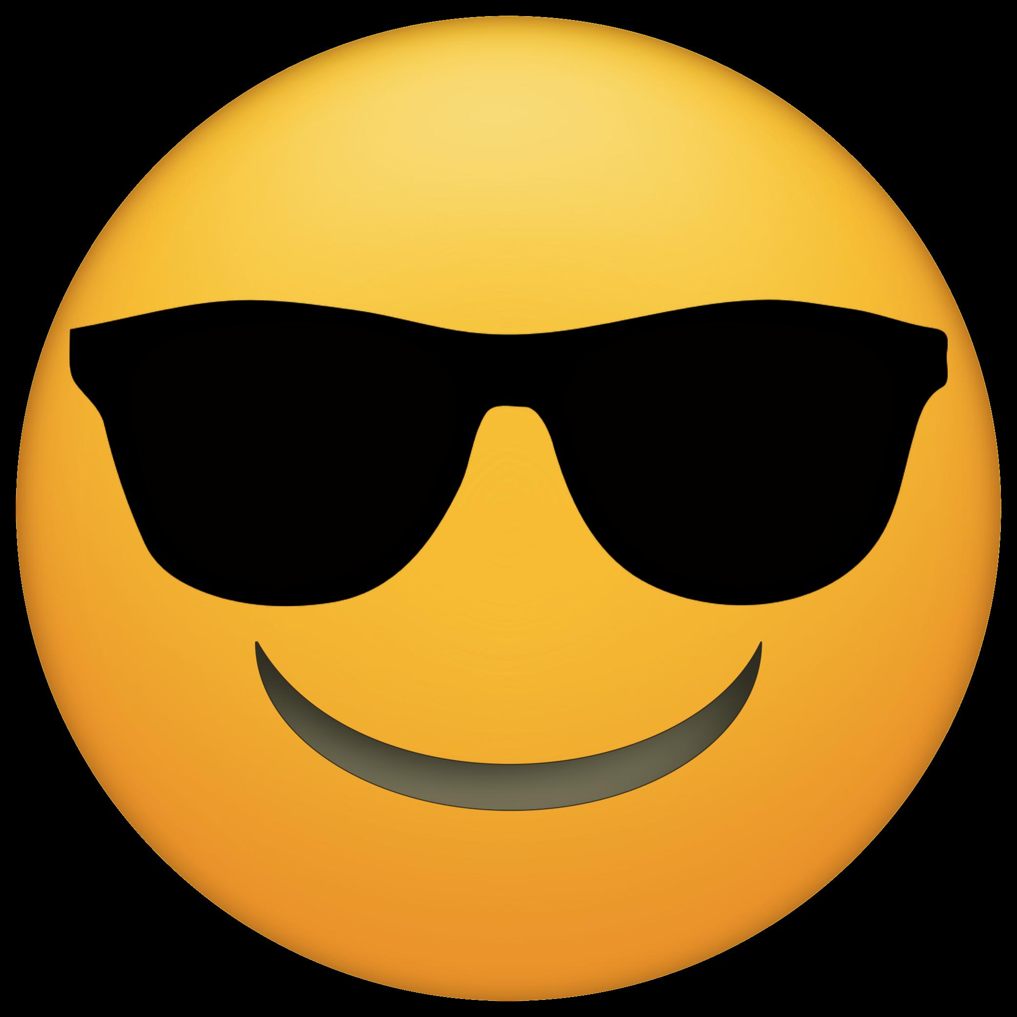Emoji Sunglasses Png 2083 2083 Molde Emoji Festa Emoji Emoji