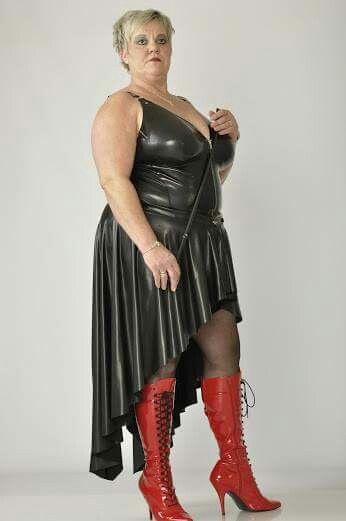 Bbw leather fetish