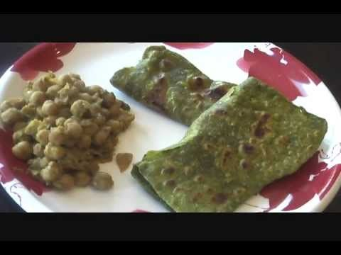 spinach paratha recipe palak parantha indian food recipe spinach paratha recipe palak parantha indian food recipe youtube forumfinder Image collections