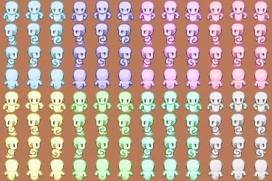 Ghost Sprite Sheet :: rpgmaker net | game making resources | Rpg