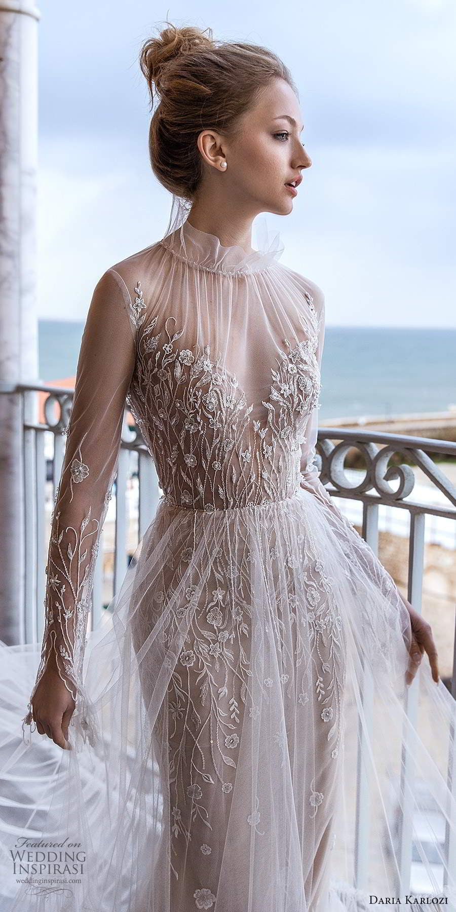 "Daria Karlozi 2021 Wedding Dresses — ""Sunlight"" Bridal"