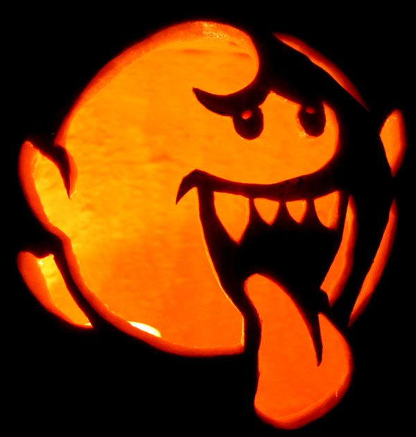 Boopumpkincarving halloween pinterest scary halloween mario pumpkin patterns are a great way to bring mario into halloween here we have a collection of mario pumpkin patterns and stencils you can use at home sciox Choice Image