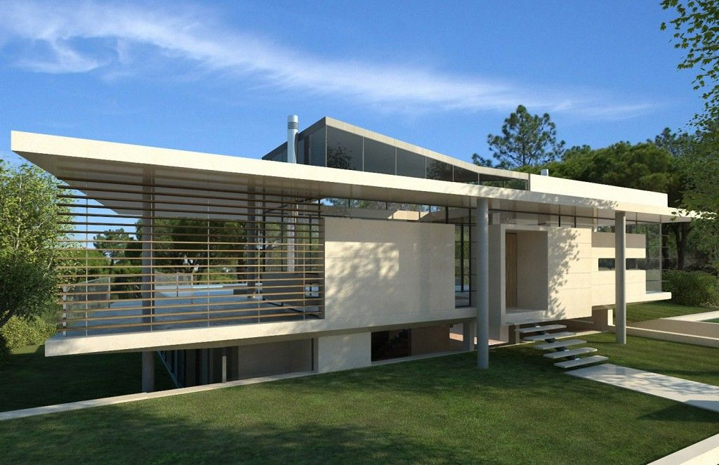 Modern minimalist villa in vale do lobo portugal ultra modern villas design concept ideas home