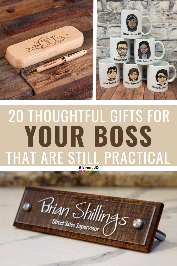 20 Thoughtful and Practical Gift Ideas For Your Boss in ...