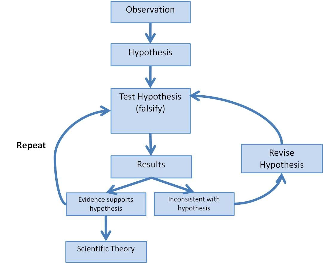 Scientific Method Flow Chart