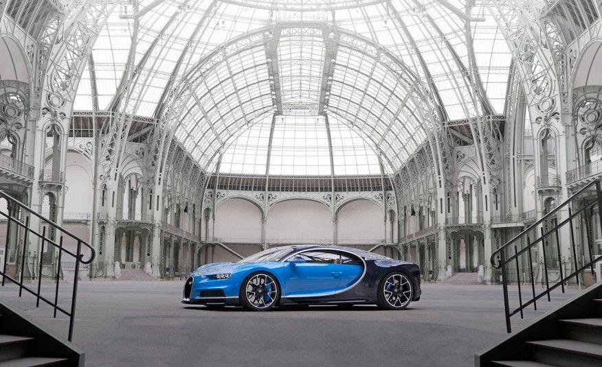 A Bugatti Apresentou Recentemente O Novo Modelo Chiron Da Marca