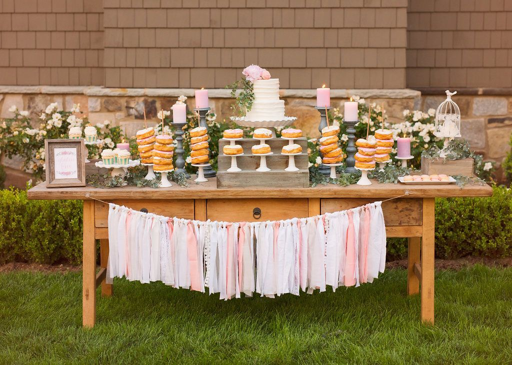 5f41991ea87 Take a peek at all the details of this adorable boho chic garden party by Sweetwood  Creative Co. for a sweet one year old! event design