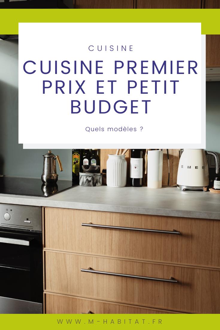 Cuisine Premier Prix Et Petit Budget En 2020 Devis Cuisine Prix Cuisine Cuisine