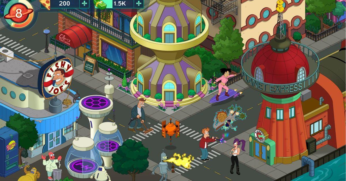 Latest 'Futurama' mobile game is part social sim, part