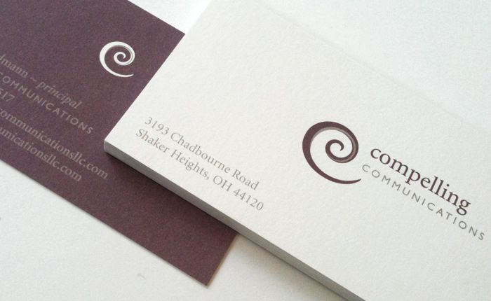 Compelling Communications Logo and Brand Identity